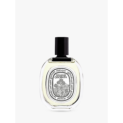 Buy Diptyque Geranium Odorata Eau de Toilette, 100ml Online at johnlewis.com