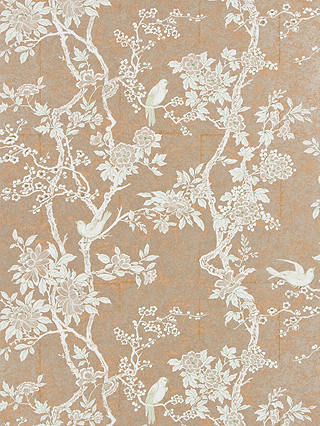 Buy Ralph Lauren Marlowe Floral Wallpaper, Sterling, PRL048/07 Online at johnlewis.com