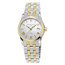 Buy Frédérique Constant FC-303MPWN1B3B Women's Gold Plated Mother of Pearl Watch, Gold/Silver Online at johnlewis.com