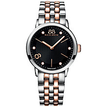 Buy 88 Rue Du Rhone 87WA140003 Women's Stainless Steel Bracelet Strap Watch, Silver/Rose Gold Online at johnlewis.com