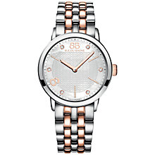 Buy 88 Rue Du Rhone 87WA140005 Women's Mother Of Pearl Stainless Steel Bracelet Strap Watch, Silver/Rose Gold Online at johnlewis.com