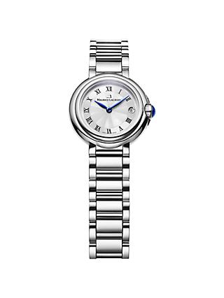 Maurice Lacroix FA1003-SS002-110 Women's Stainless Steel Bracelet Strap Watch, Silver
