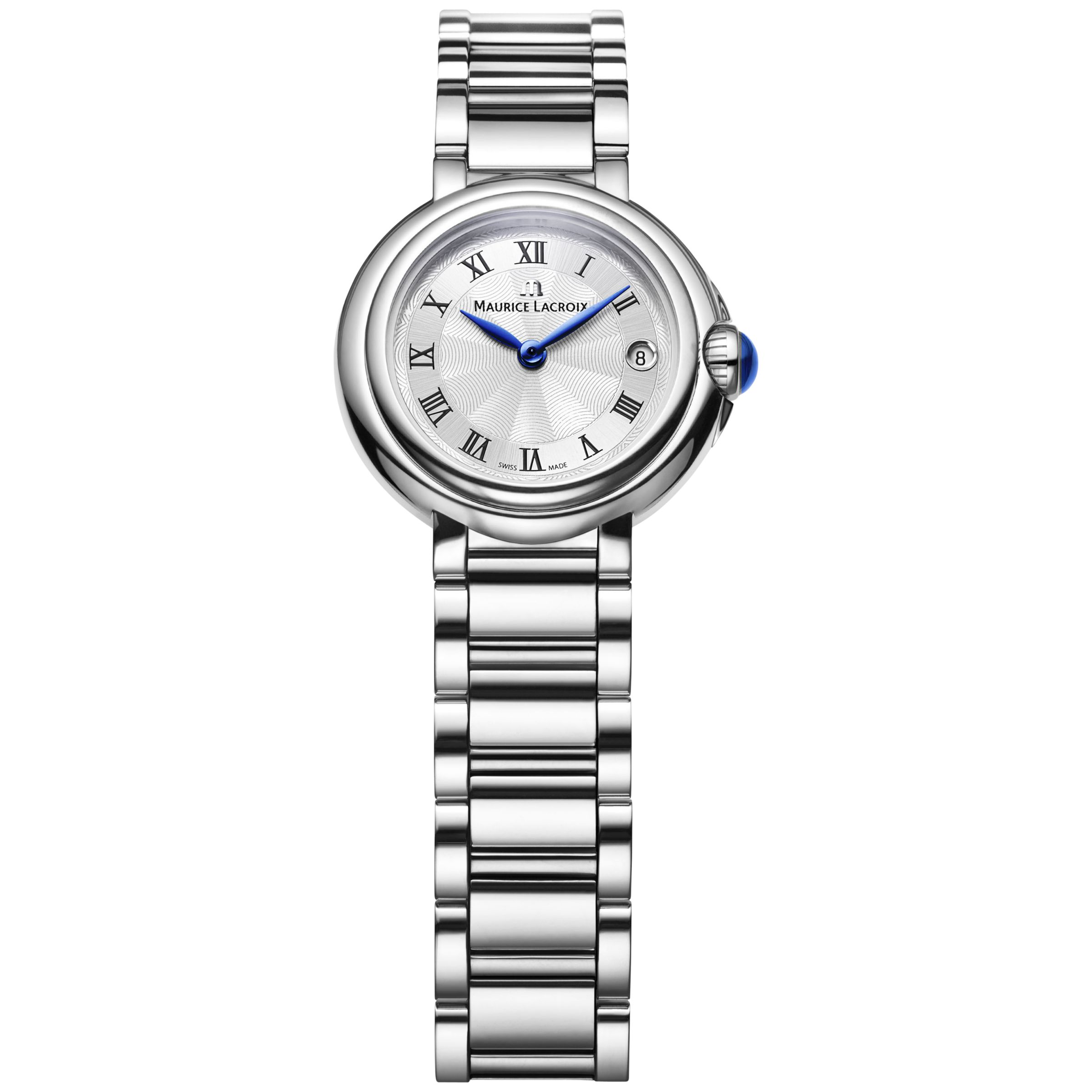 Maurice Lacroix Maurice Lacroix FA1003-SS002-110 Women's Stainless Steel Bracelet Strap Watch, Silver