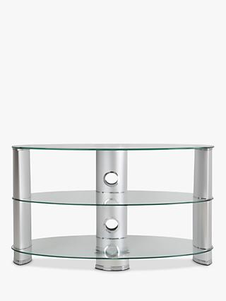 John Lewis Partners 850 Oval Tv Stand For Tvs Up To