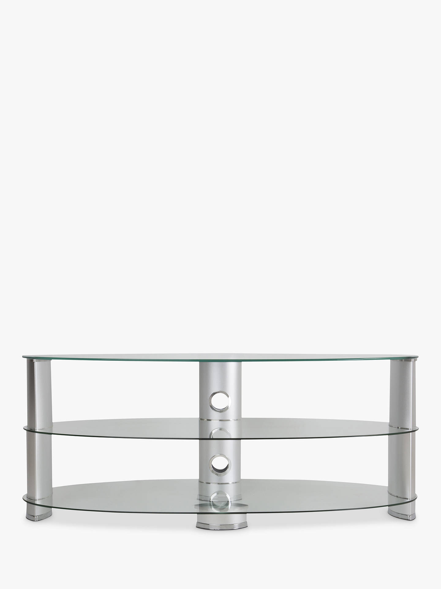 2478dc414380 John Lewis & Partners 1200 Oval TV Stand for TVs up to 60