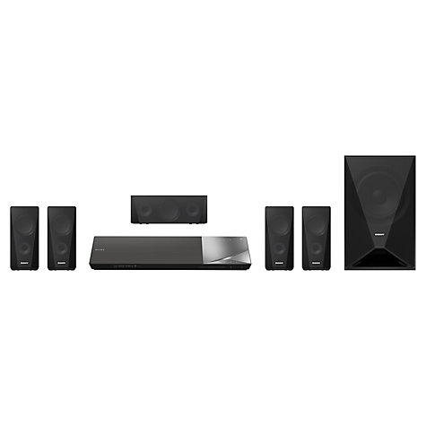 Buy Sony BDV-N5200WB 5.1 3D Smart Blu-ray/DVD Home Cinema System Online at johnlewis.com