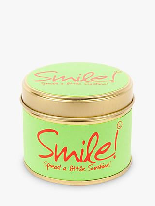 Lily-Flame Smile Scented Mini Candle Tin