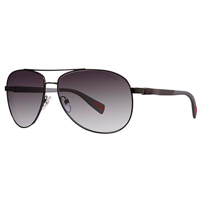 Prada Linea Rossa PS51OS 7AX5W1 Polarised Aviator Sunglasses