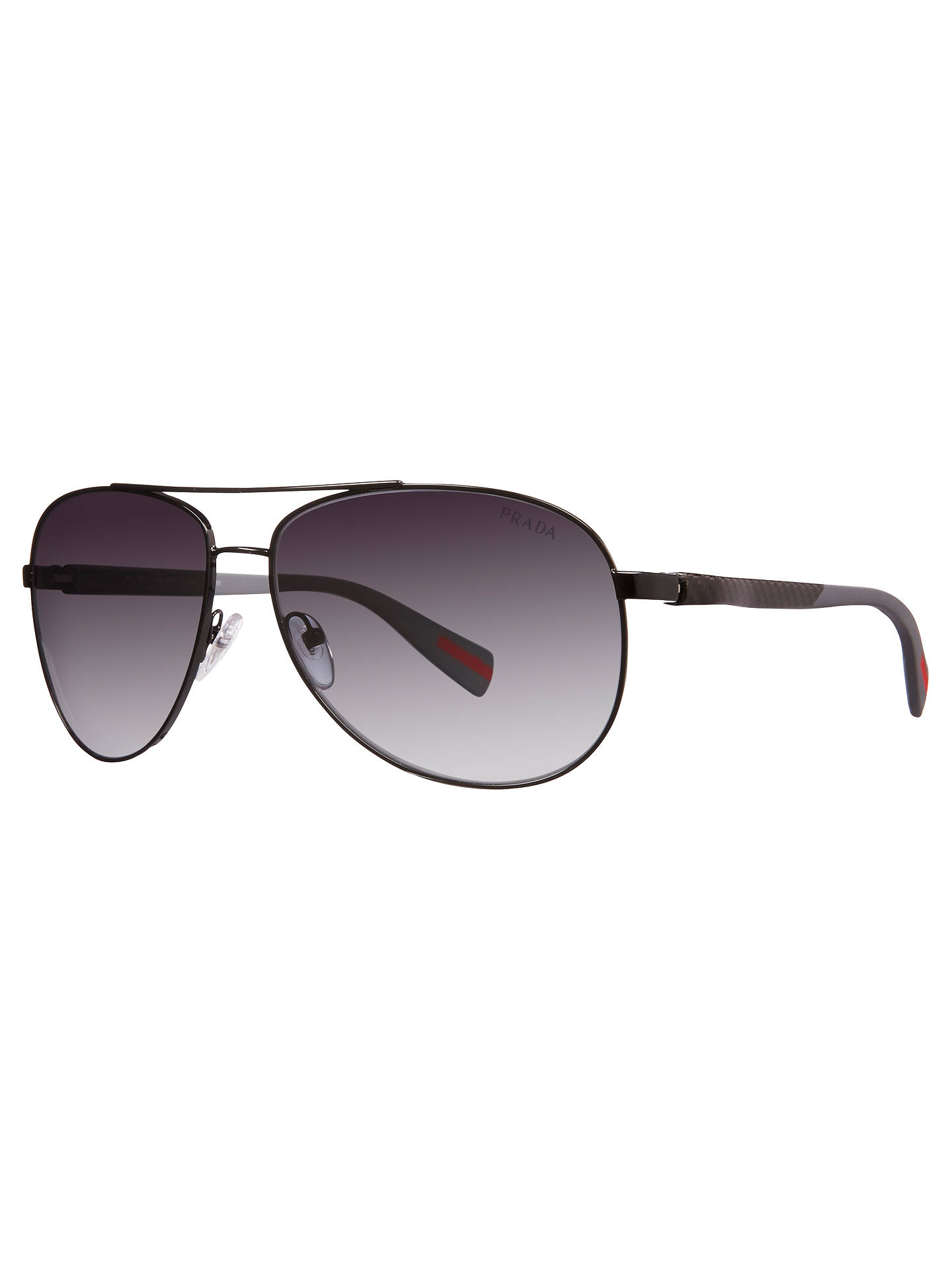b1a4f3670fa Buy Prada Linea Rossa PS51OS Polarised Aviator Sunglasses