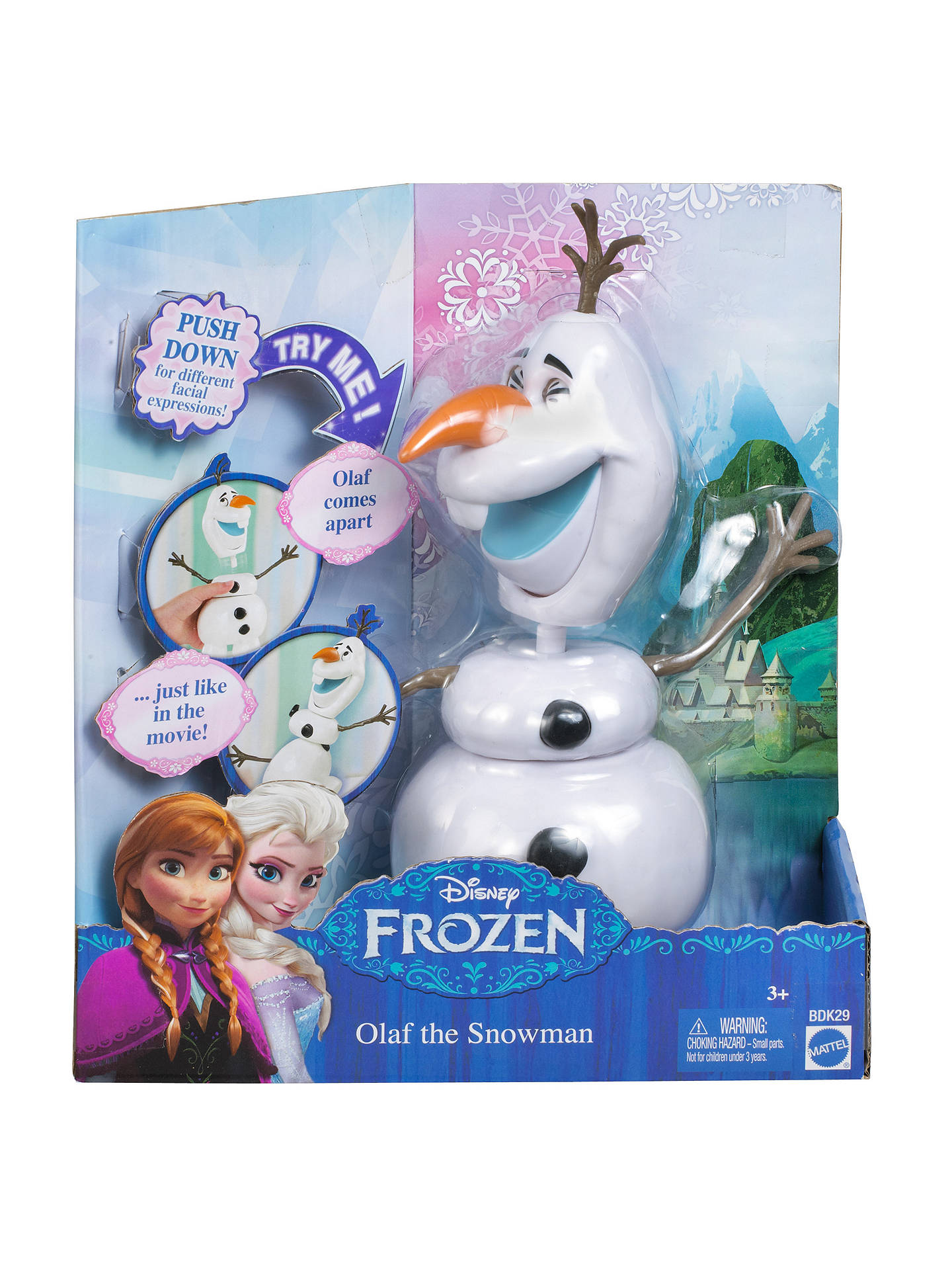 Disney Frozen Olaf the Snowman at John Lewis & Partners