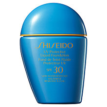 Buy Shiseido Sun Protection Liquid Foundation Online at johnlewis.com