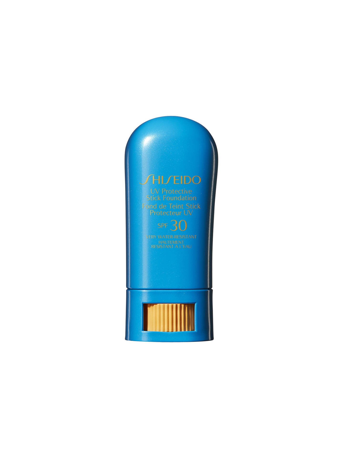 Buy Shiseido Sun Protection Stick Foundation, Beige Online at johnlewis.com