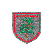 Buy The Cedars School Sew-On Blazer Badge, Grey/Multi Online at johnlewis.com