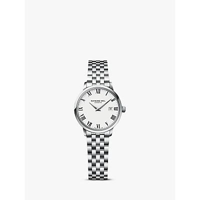 Raymond Weil 5988-ST-00300 Toccata Women's Stainless Steel Bracelet Watch, Silver