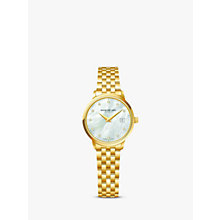 Buy Raymond Weil 5988-P-97081 Women's Toccata Diamond Bracelet Strap Watch, Gold/Silver Online at johnlewis.com