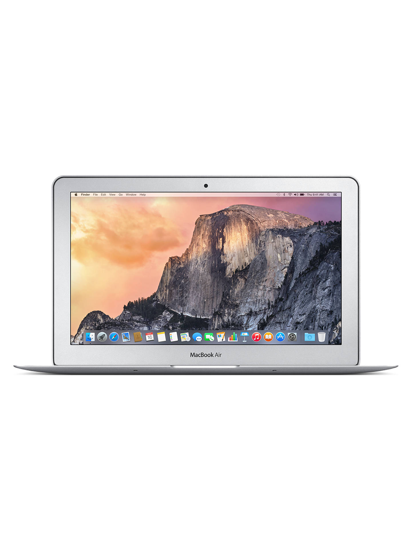 "Buy Apple MacBook Air, MD711B/B, Intel Core i5, 128GB Flash Storage, 4GB RAM, 11.6"" Online at johnlewis.com"