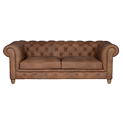 Halo Earle Grand Chesterfield Leather Sofa