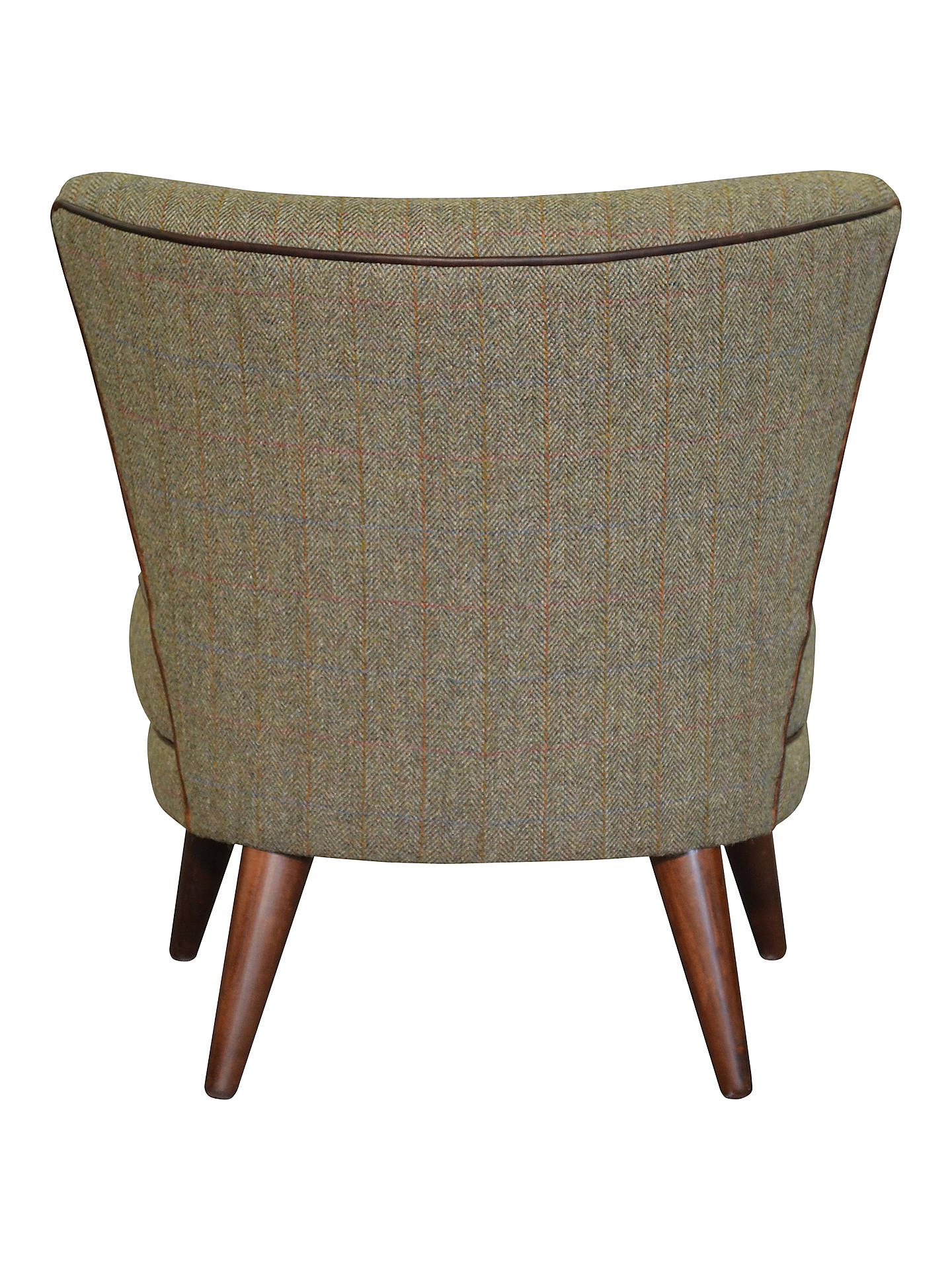 Harris Tweed Harmony Armchair, Loden Herringbone at John ...