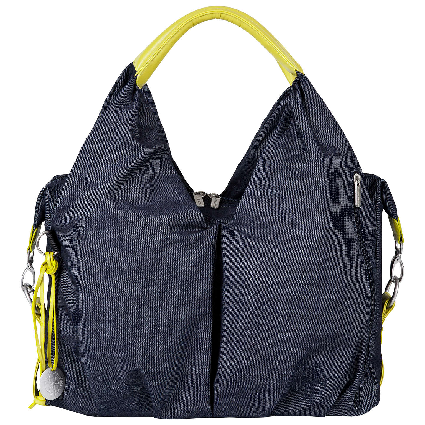 BuyLaessig Neckline Changing Bag, Denim Online at johnlewis.com