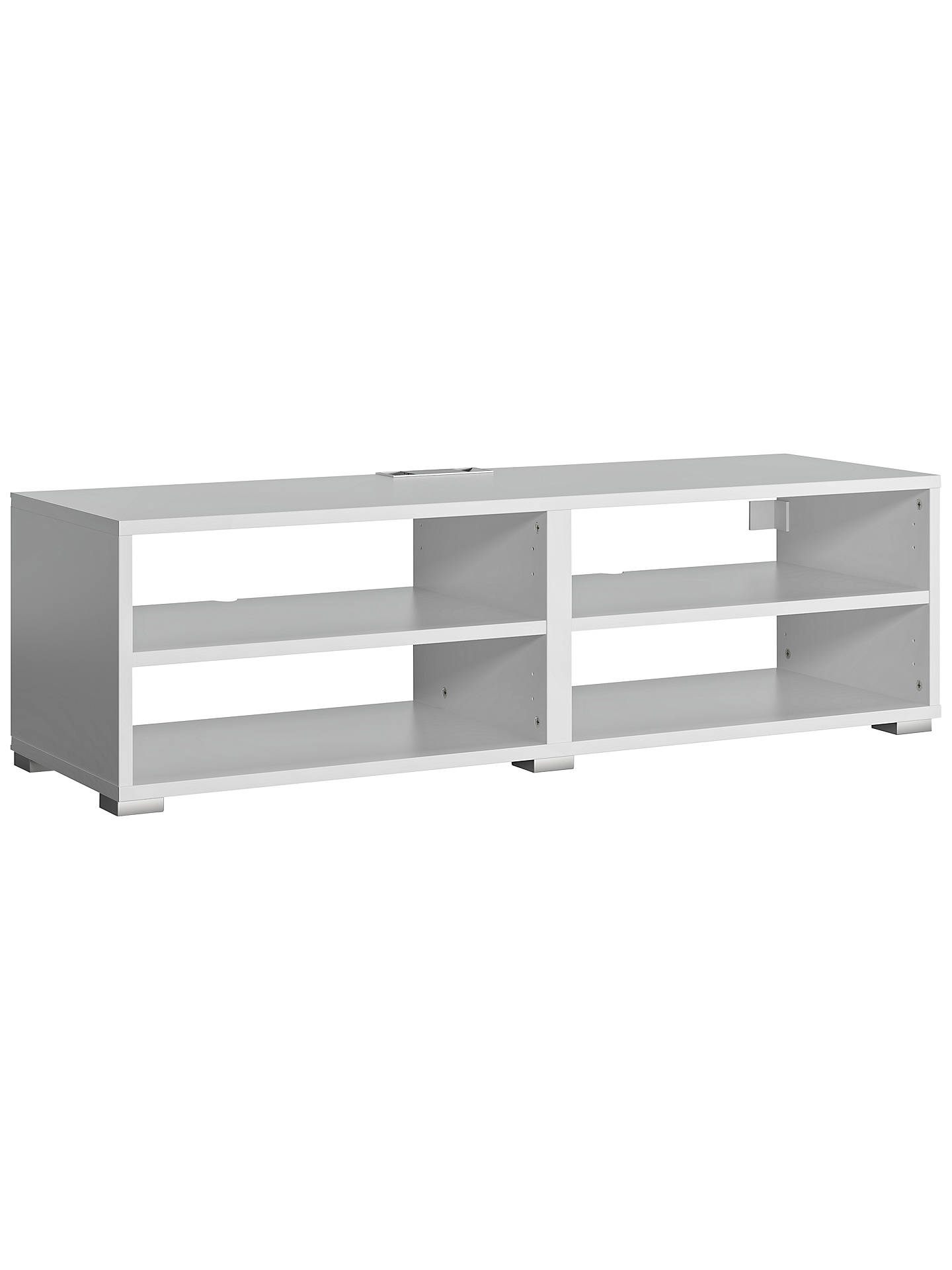 BuyHouse By John Lewis Mix It Media Storage Unit, White Online At  Johnlewis.com ...