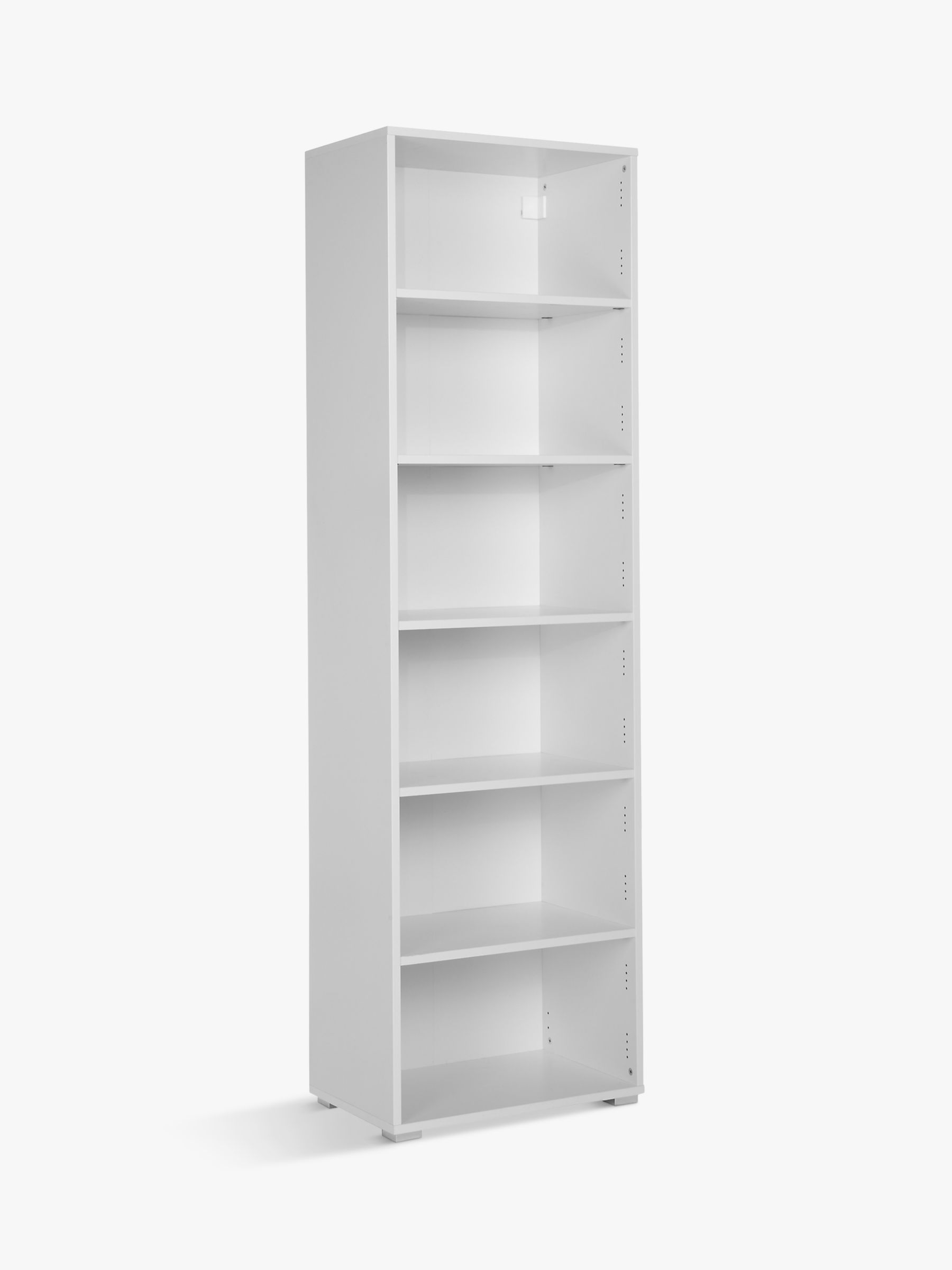 House By John Lewis Mix It Tall Single Shelf Unit White