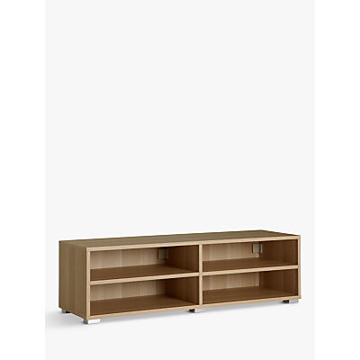 House by John Lewis Mix it Low Wide Shelf Unit