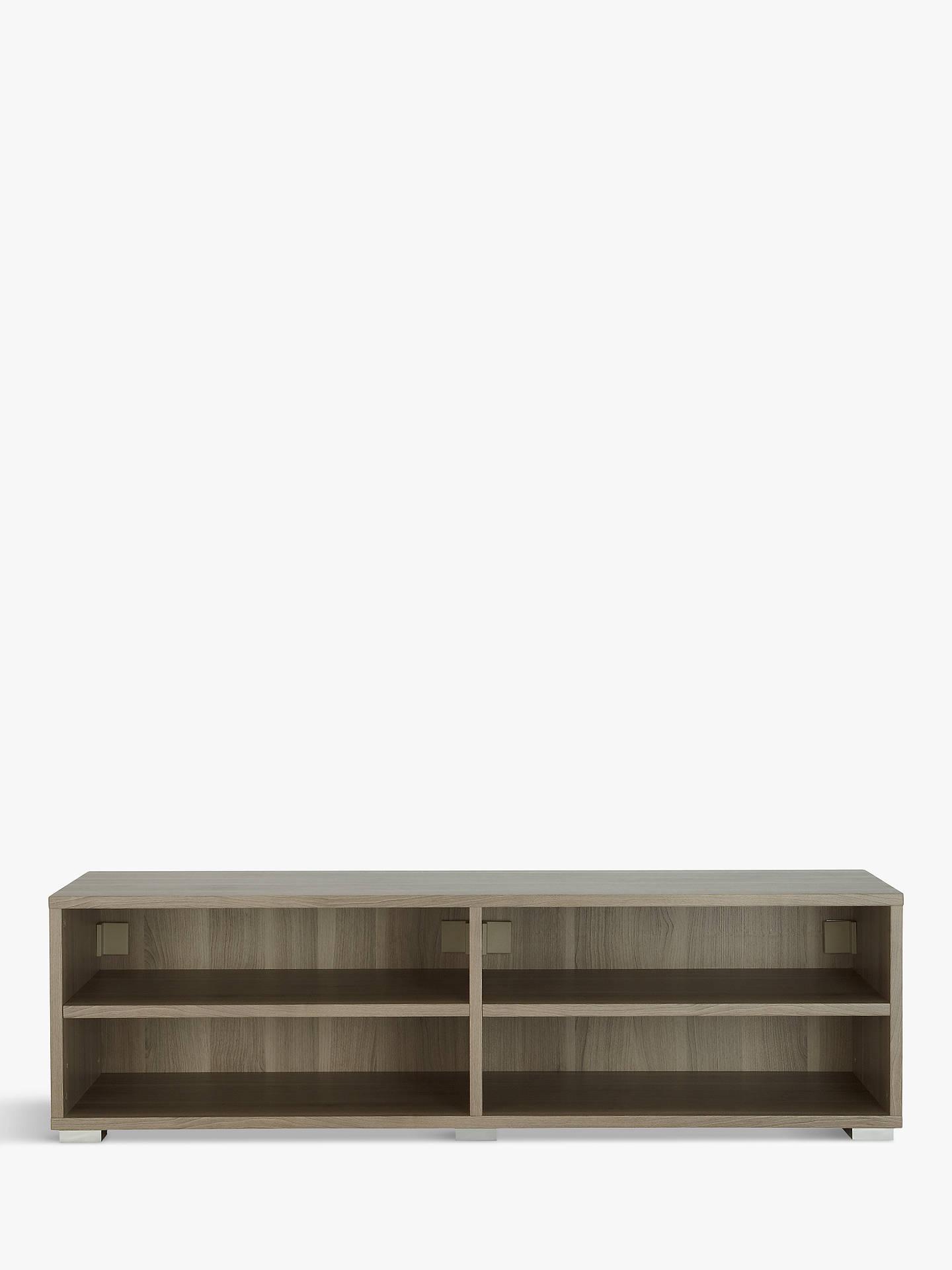 check out 9f30d 1775a House by John Lewis Mix it Low Wide Shelf Unit, Grey Ash
