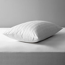 Buy John Lewis Natural Collection Siberian Goose Feather and Down Standard Pillow, Medium/Firm Online at johnlewis.com