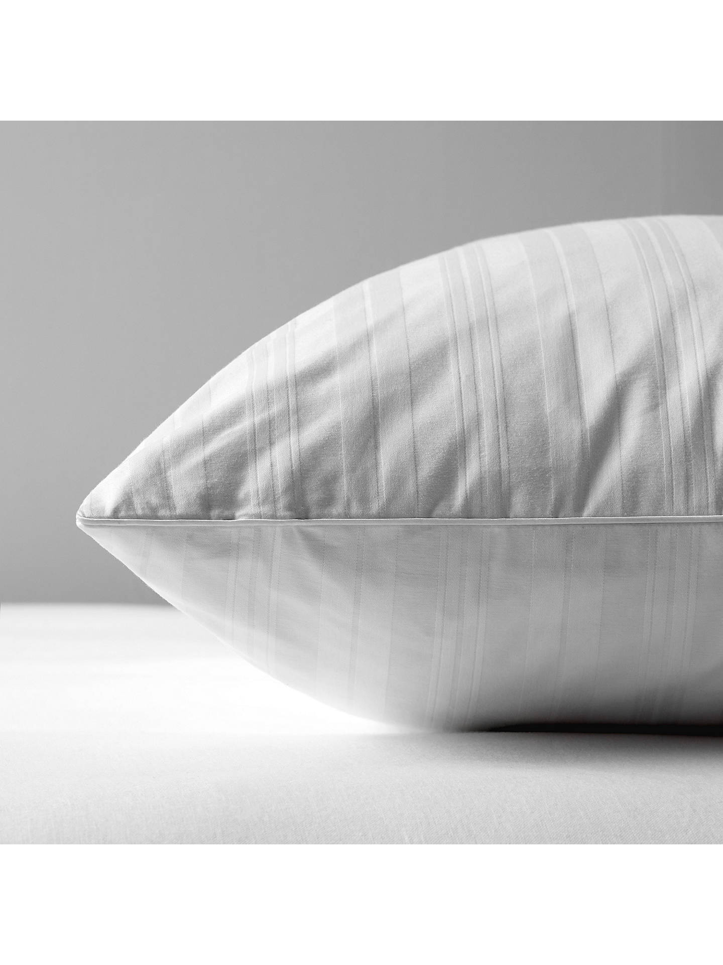 BuyJohn Lewis & Partners Natural Collection Siberian Goose Feather and Down Standard Pillow, Medium Online at johnlewis.com