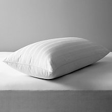 Buy John Lewis Siberian Goose Feather & Down Kingsize Pillow Online at johnlewis.com