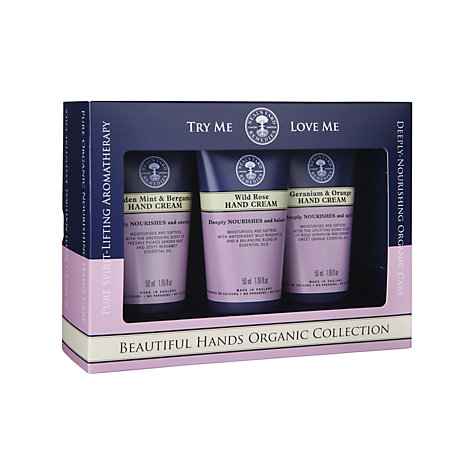 Buy Neal's Yard Remedies Hand Cream Collection, 3 x 50ml Online at johnlewis.com