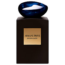 Buy Giorgio Armani / Privé Encens Satin Eau de Parfum, 100ml Online at johnlewis.com
