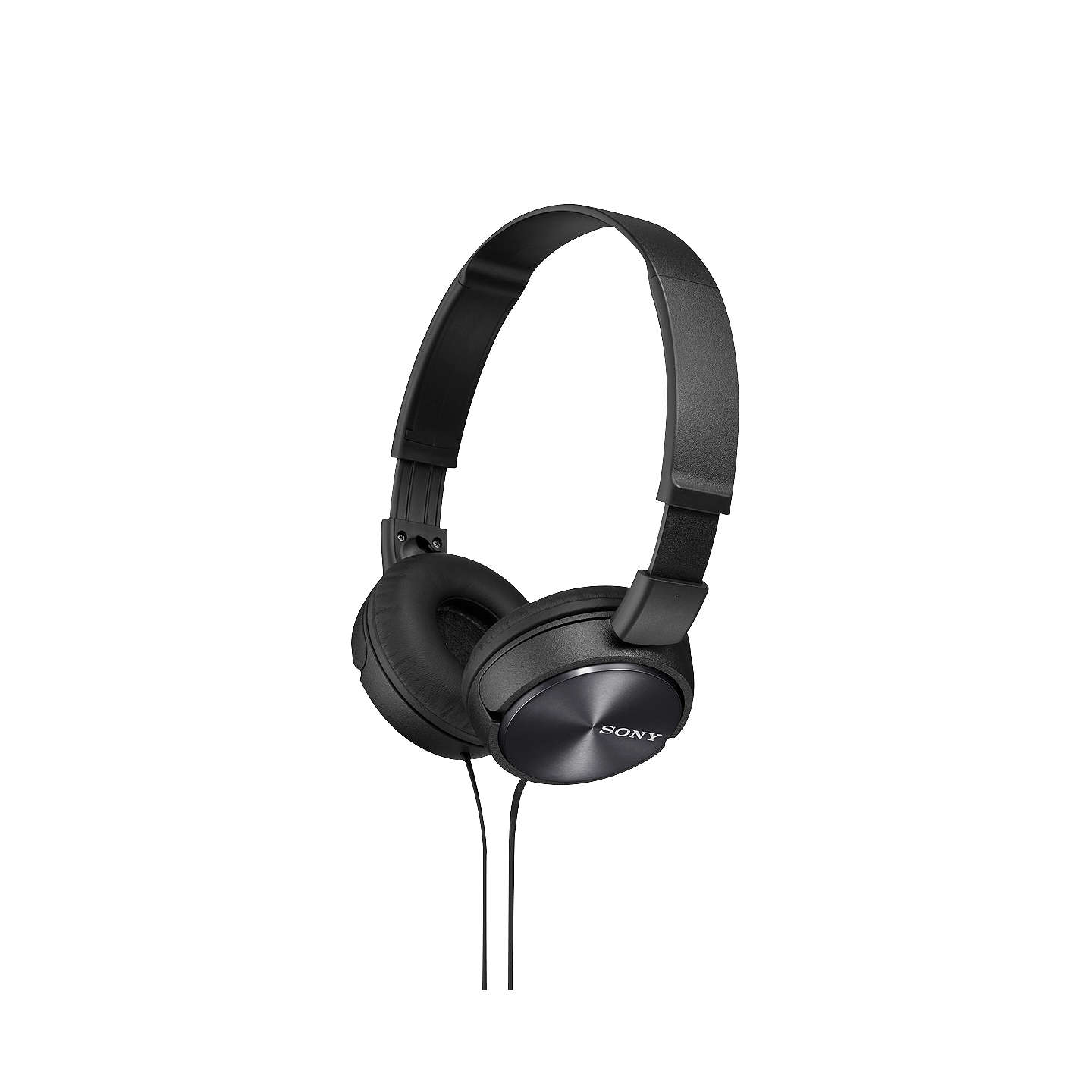 BuySony MDR-ZX310 On-Ear Headphones with Mic/Remote, Black Online at johnlewis.com
