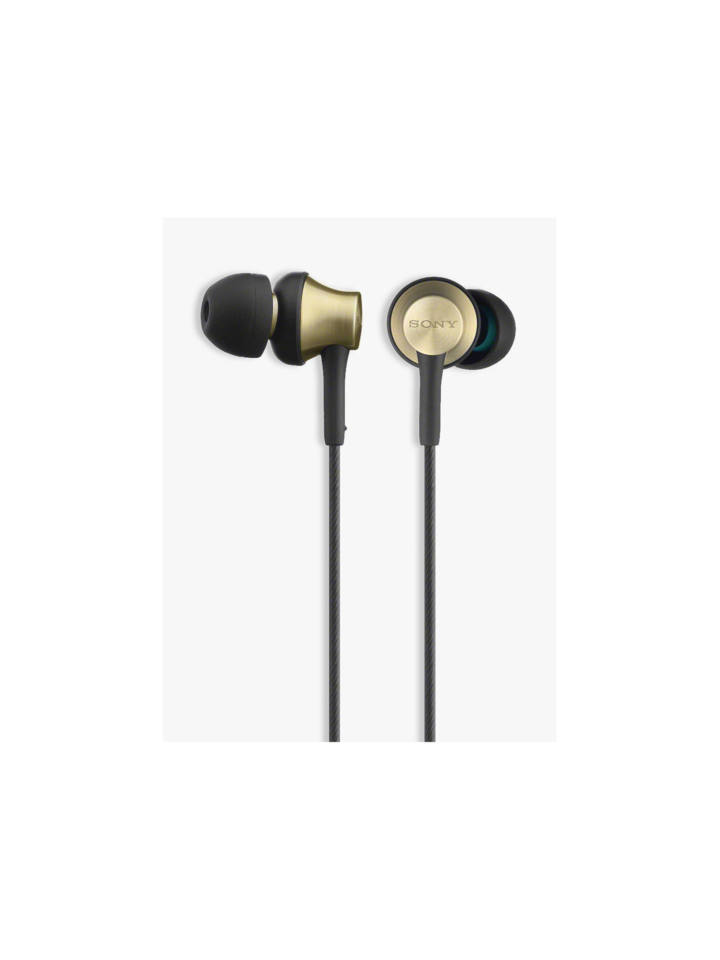 BuySony MDR-EX650 In-Ear Headphones with Mic/Remote, Brass Online at johnlewis.com