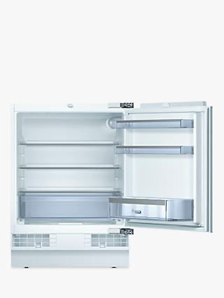 Bosch KUR15A50GB Integrated Undercounter Larder Fridge, A+ Energy Rating, 60cm Wide