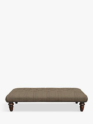 Tetrad Lewis Large Buttoned Top Footstool