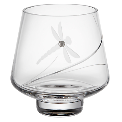 Dartington Crystal Dragonfly Votive