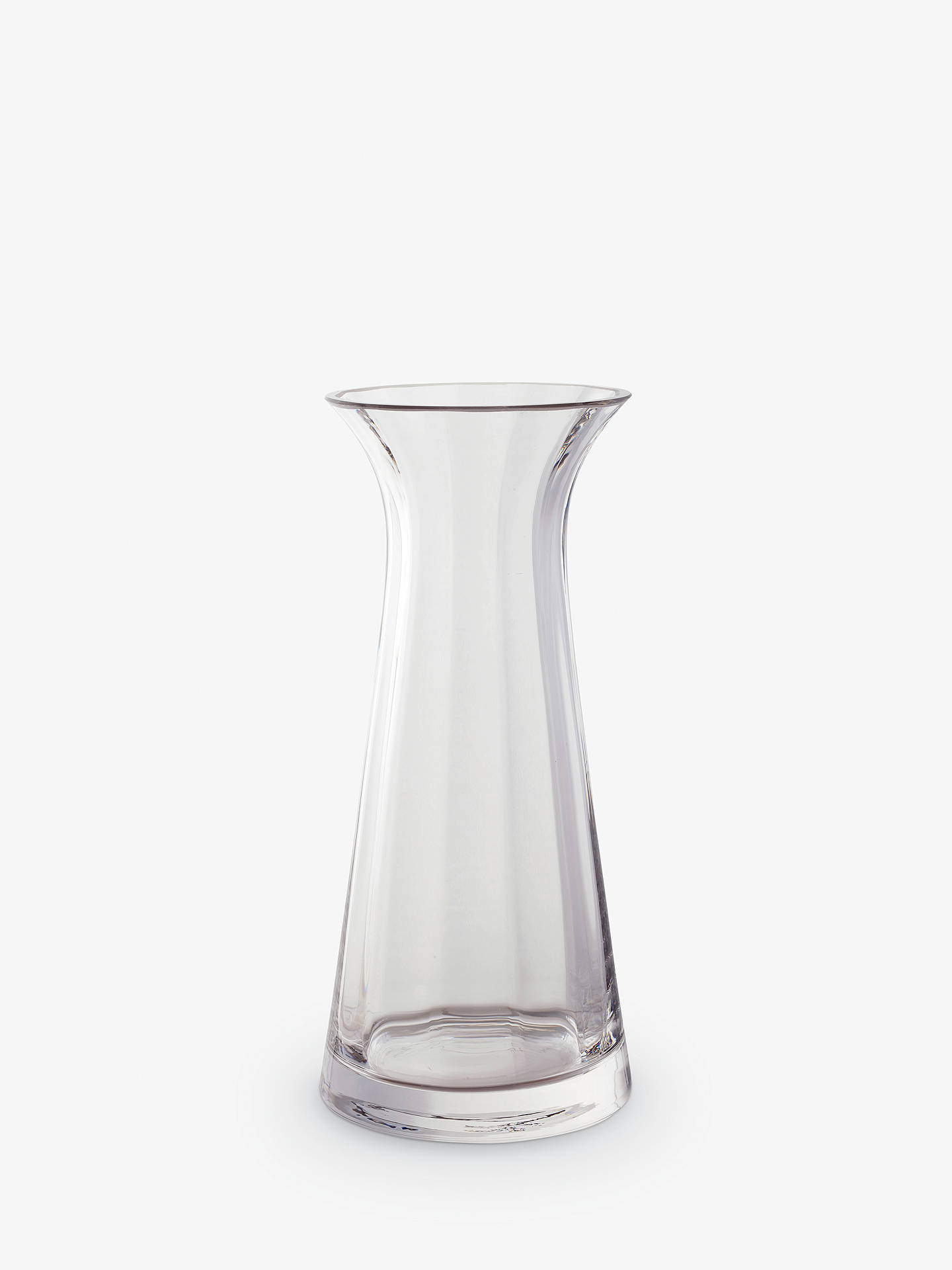 BuyDartington Crystal Florabundance Large Conical Vase, H22cm Online at johnlewis.com