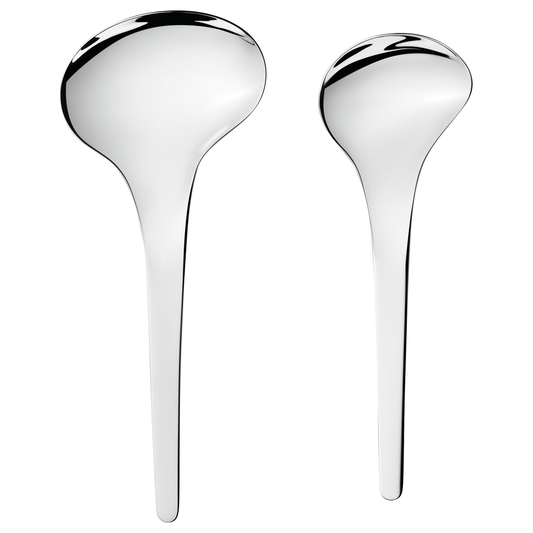 Georg Jensen Georg Jensen Bloom Serving Spoons, Set of 2