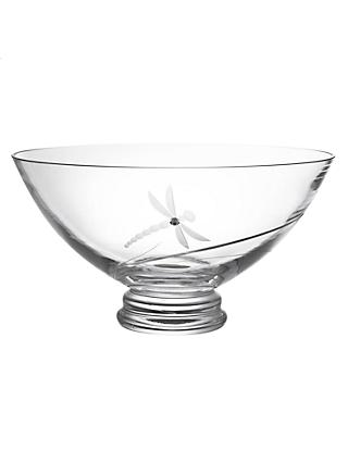 Dartington Crystal Dragonfly Bowl