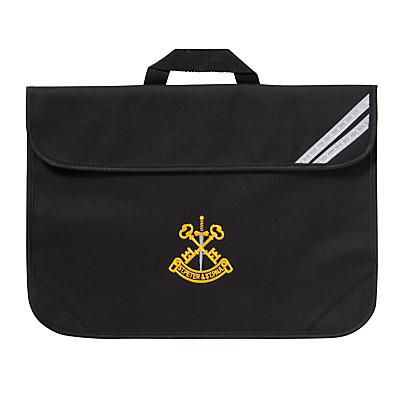 St Peter & St Paul School Book Bag, Black