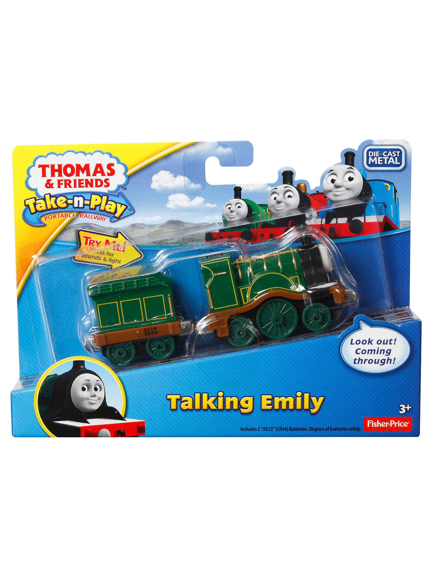 97cbc05588299a Buy Fisher-Price Thomas The Tank Engine Talking Thomas & Friends, Assorted  Online at ...