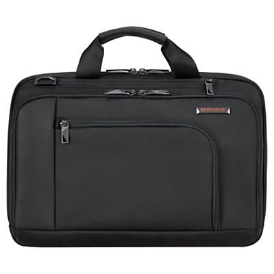 Briggs & Riley Verb Contact 15 Laptop Briefcase Black
