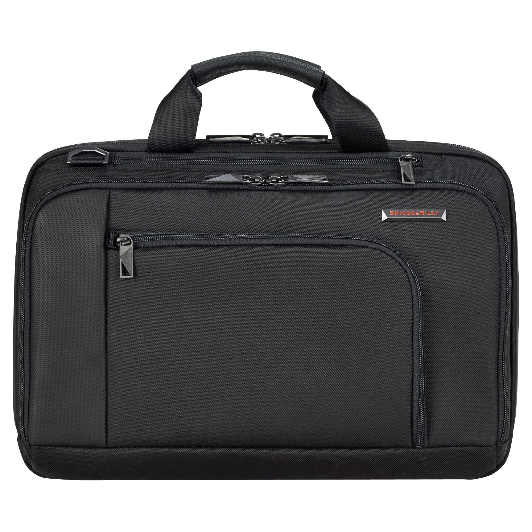 Briggs & Riley Briggs & Riley Verb Contact 15 Laptop Briefcase, Black