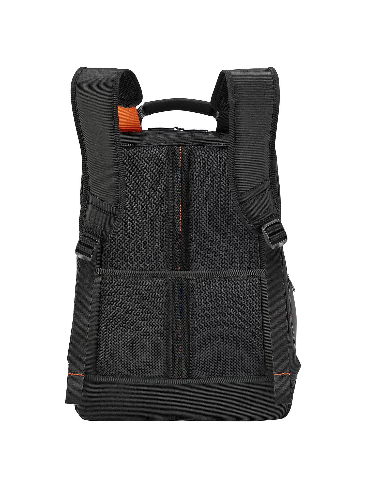"BuyBriggs & Riley Verb Accelerate 17"" Laptop Backpack, Black Online at johnlewis.com"