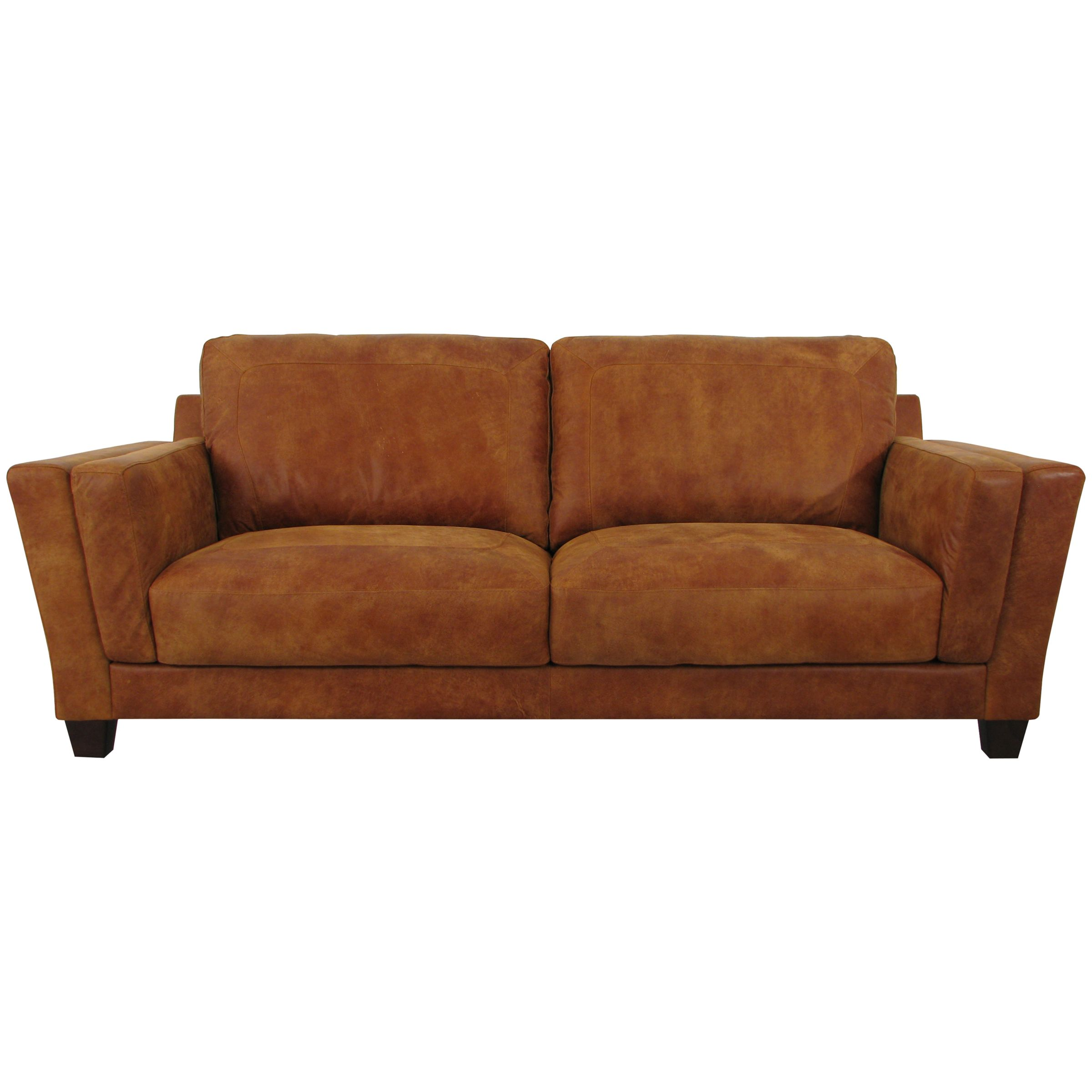 Marino Leather Sofa Brown Leather Poltrona Frau Linea A Three Seat
