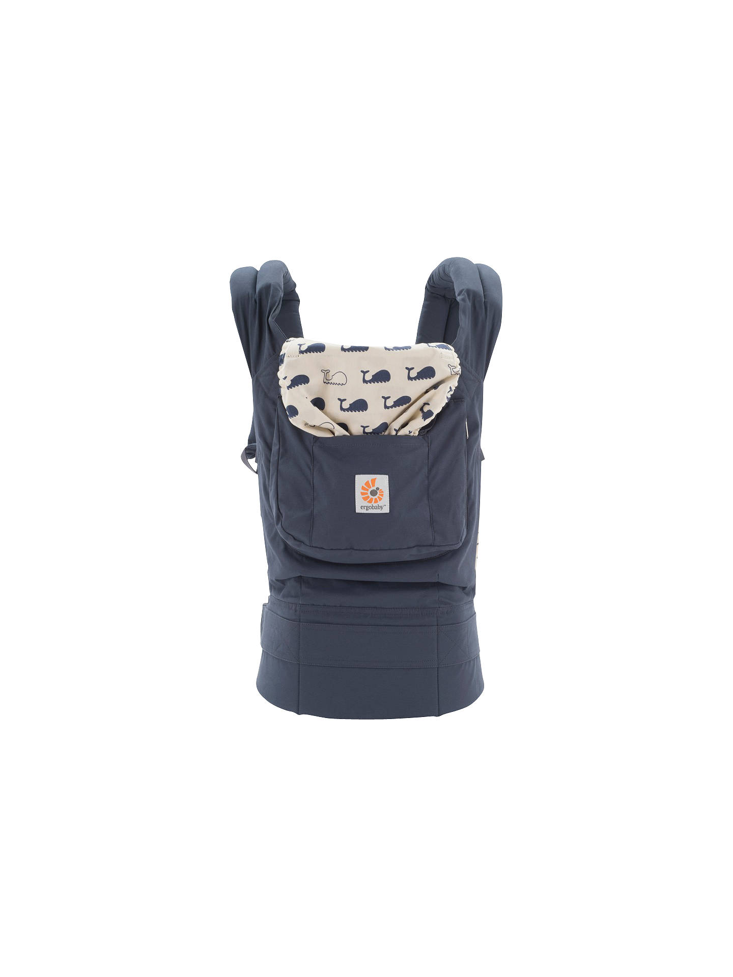 new product a0c96 832c7 Buy Ergobaby Original Baby Carrier, Marine Online at johnlewis.com ...