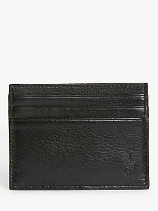Polo Ralph Lauren Pebble Leather Card Holder