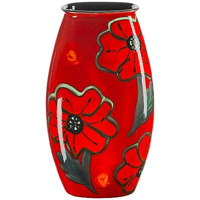 Poole Pottery Poppyfield Manhattan Vase, H26cm