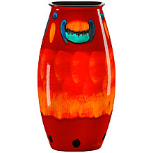 Buy Poole Pottery Volcano Manhattan Vase, H26cm Online at johnlewis.com